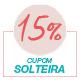 Promoção Dia das Solteiras 2020 - Selo 15% Off