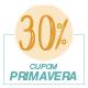 Promoção Primavera 2020 - Selo de 30% Off