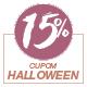 Promoção Halloween 2020 - Selo de 15% Off