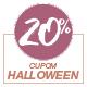 Promoção Halloween 2020 - Selo de 20% Off