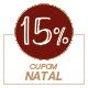 Promoção Natal 2020 - Selo de 15% Off