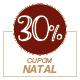 Promoção Natal 2020 - Selo de 30% Off