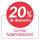 Promoção Namorados Joico - Selo de 20% Off