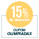 Promoção Olimpíadas - Selo de 15% Off