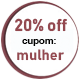 Promoção Dia da Mulher - SELO 20% Off