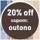 Promoção Outono - SELO 20% Off